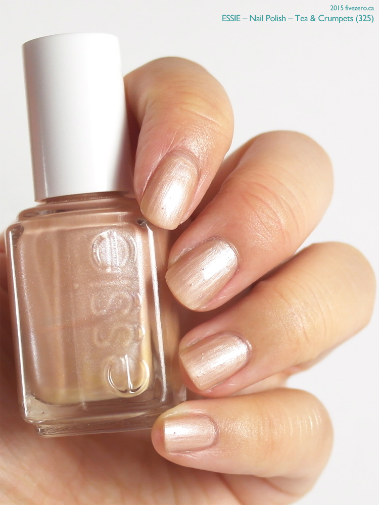 Essie Nail Polish in Tea & Crumpets, swatch