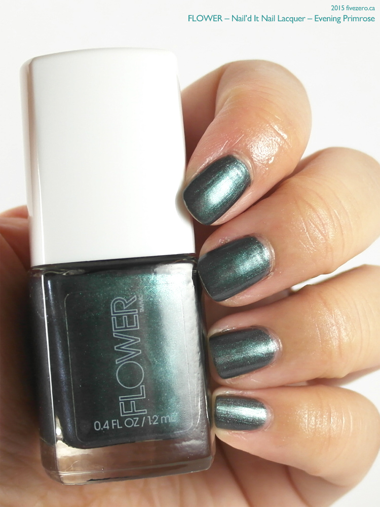 Flower Nail'd It Nail Lacquer in Evening Primrose, swatch