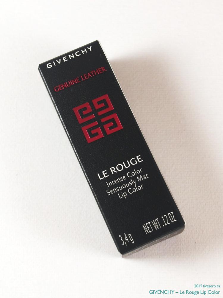 Givenchy Le Rouge Lip Color