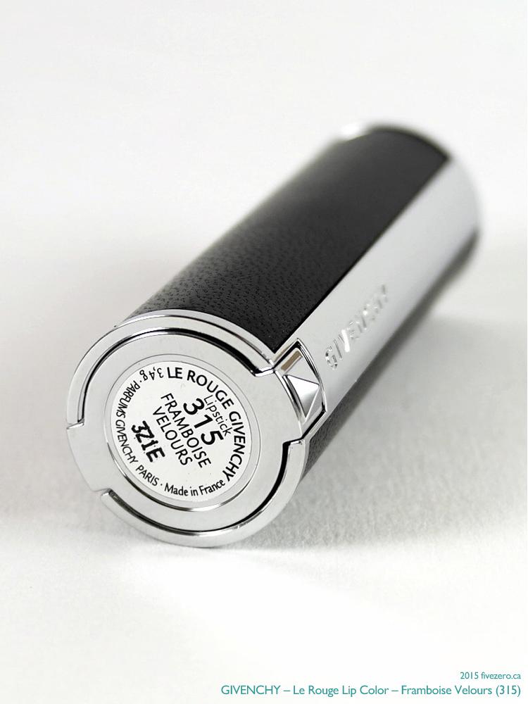 Givenchy Le Rouge Lip Color, label