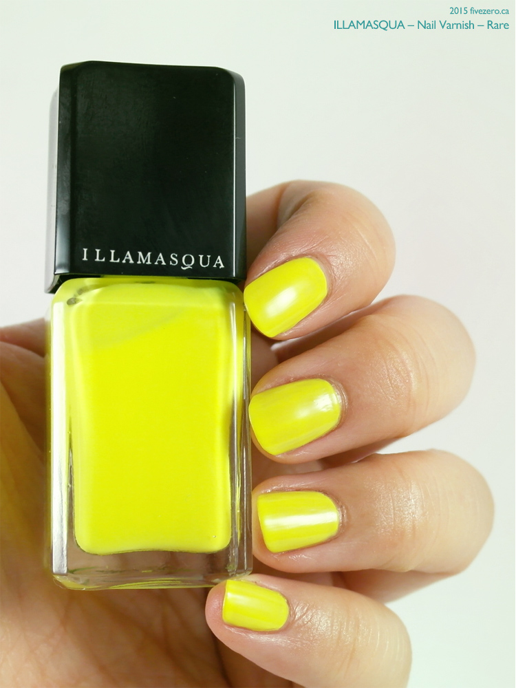 Illamasqua Nail Varnish in Rare, swatch