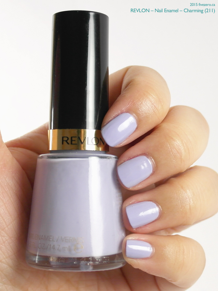 Revlon Nail Enamel in Charming, swatch