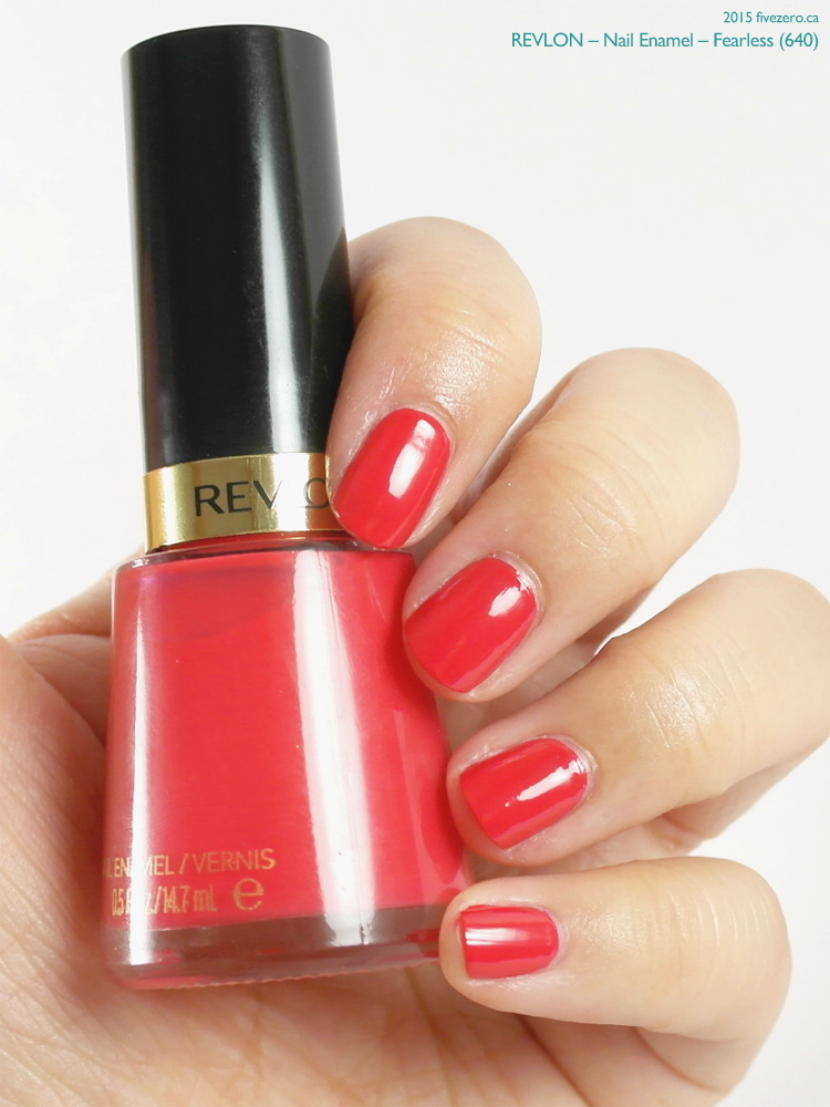 Revlon Nail Enamel in Fearless, swatch