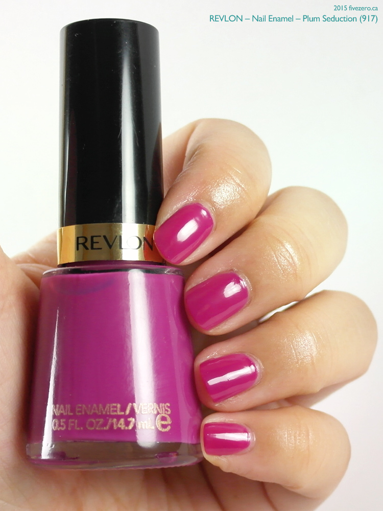 Revlon Nail Enamel in Plum Seduction, swatch