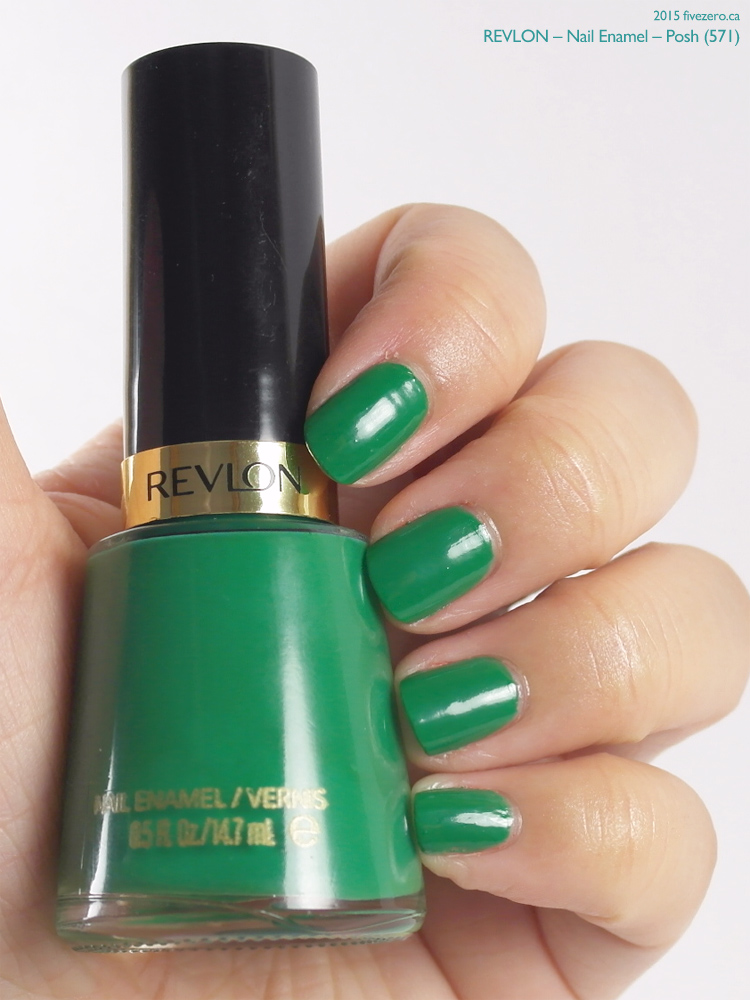 Revlon Nail Enamel in Posh, swatch