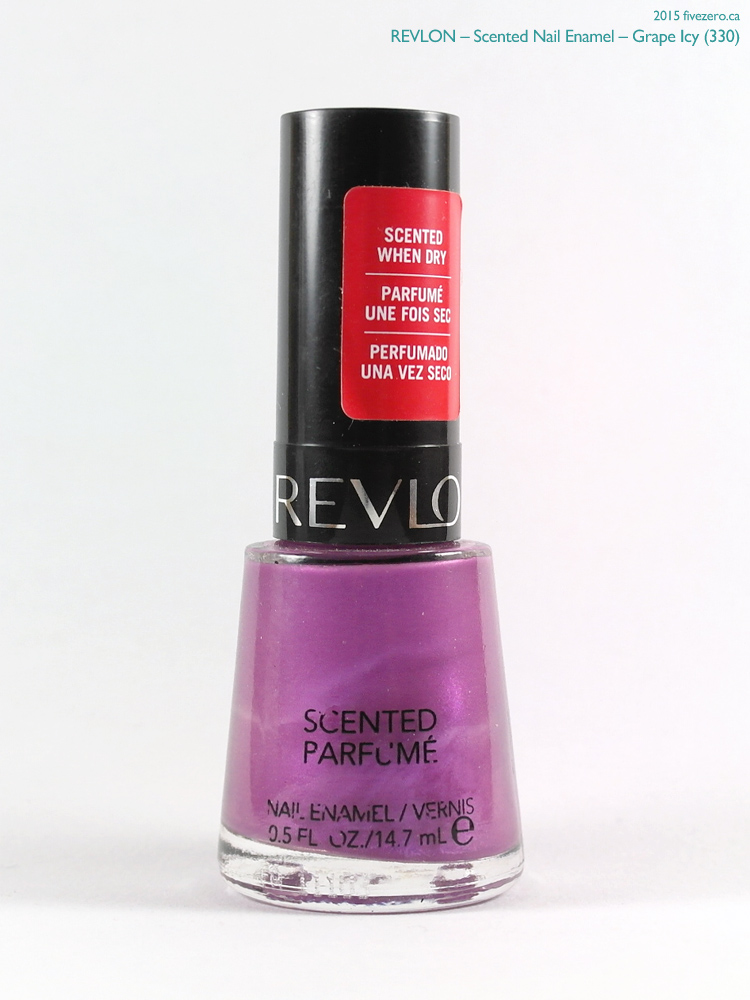 Revlon Scented Nail Enamel in Grape Icy