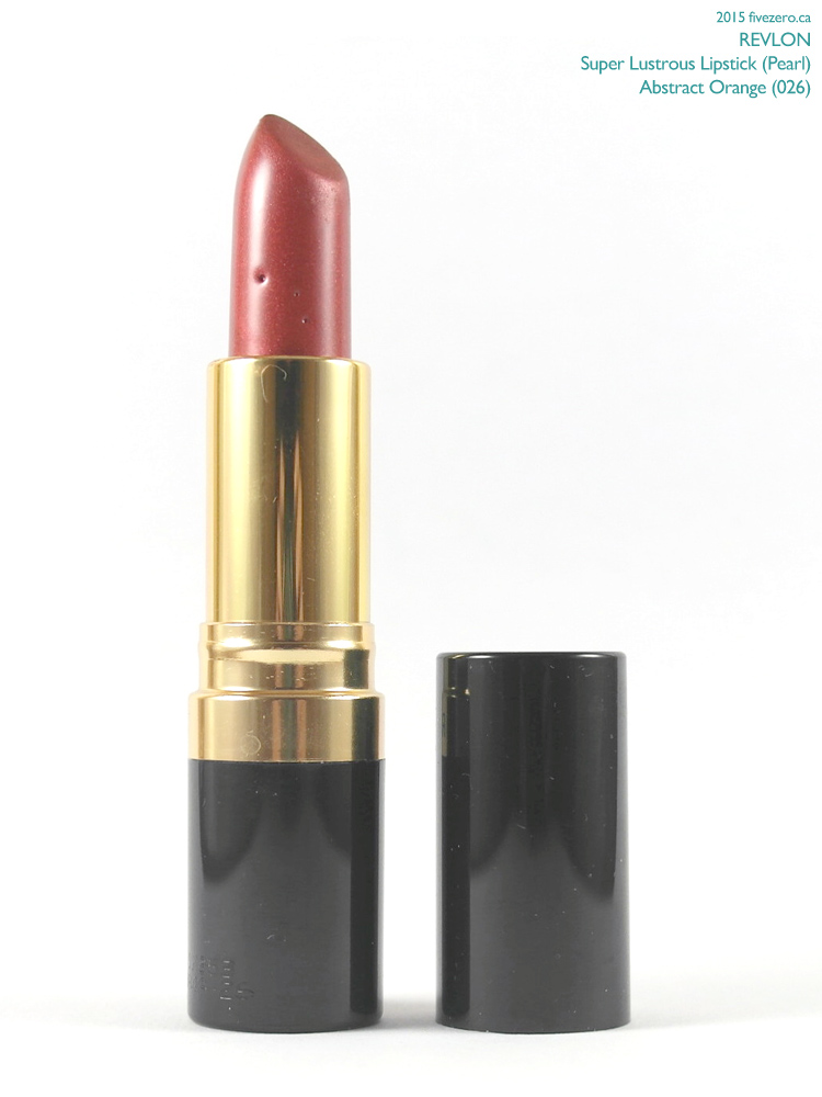 Revlon Super Lustrous Lipstick in Abstract Orange
