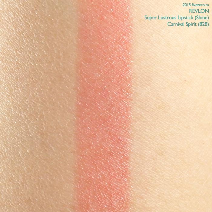 Revlon Super Lustrous Lipstick in Carnival Spirit, swatch