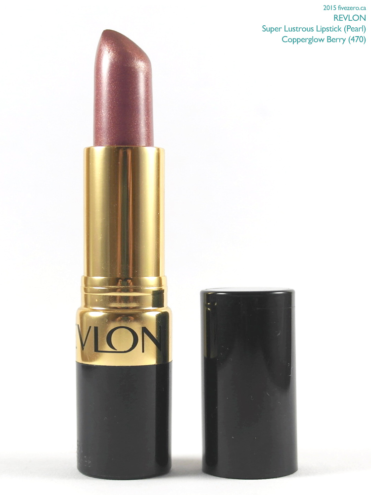 Revlon Super Lustrous Lipstick in Copperglow Berry