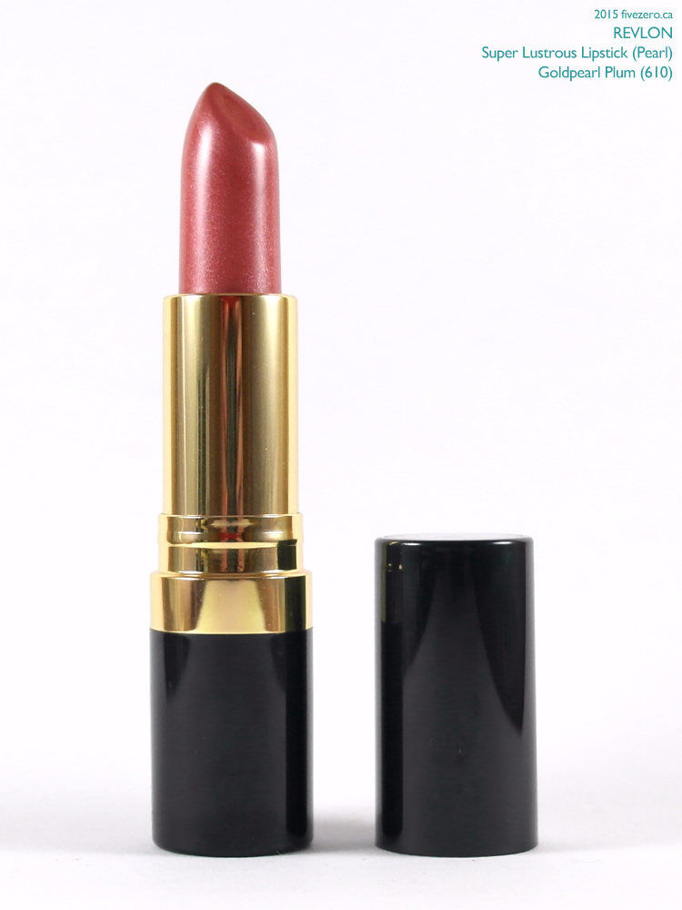 Revlon Super Lustrous Lipstick in Goldpearl Plum