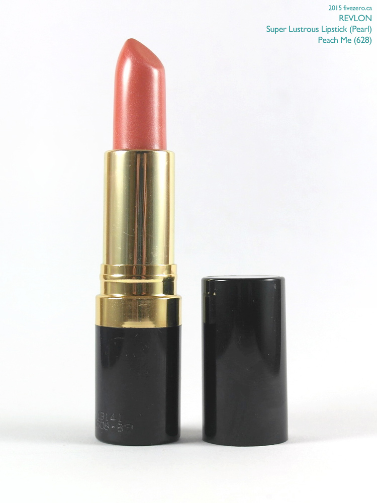 Revlon Super Lustrous Lipstick in Peach Me, swatch