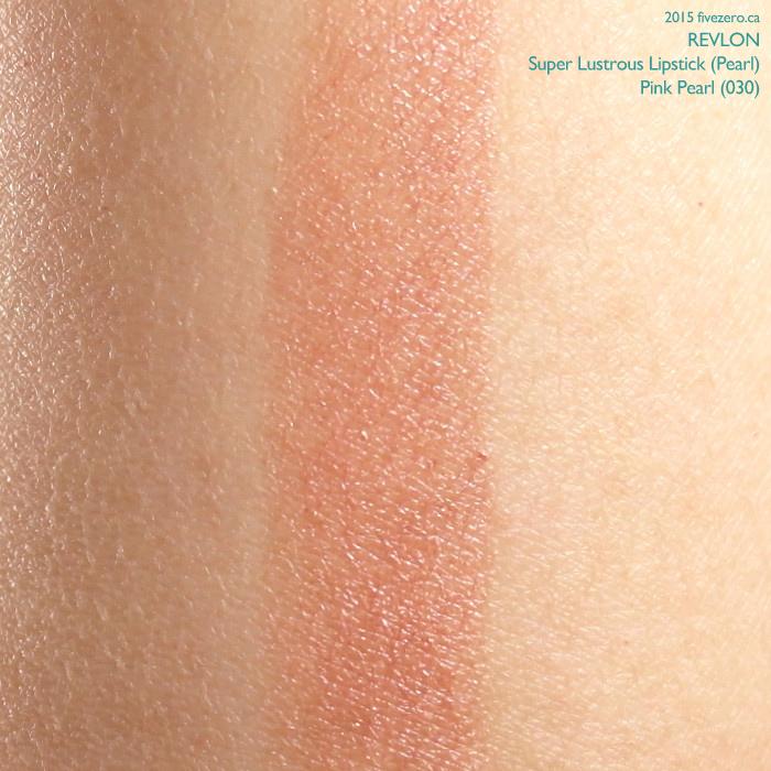 Revlon Super Lustrous Lipstick in Pink Pearl, swatch