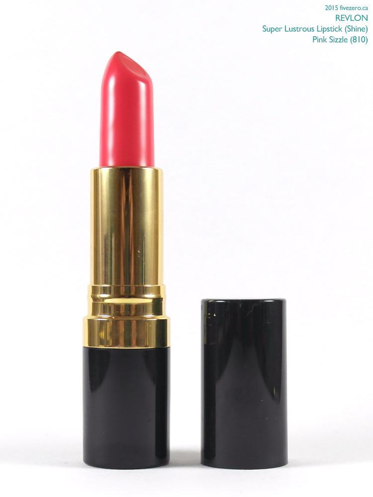 Revlon Super Lustrous Lipstick in Pink Sizzle
