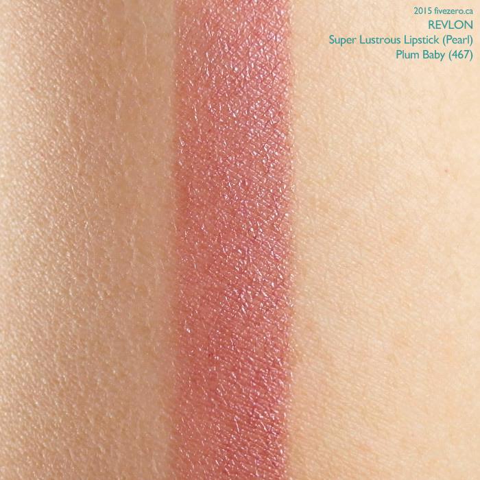 Revlon Super Lustrous Lipstick in Plum Baby, swatch