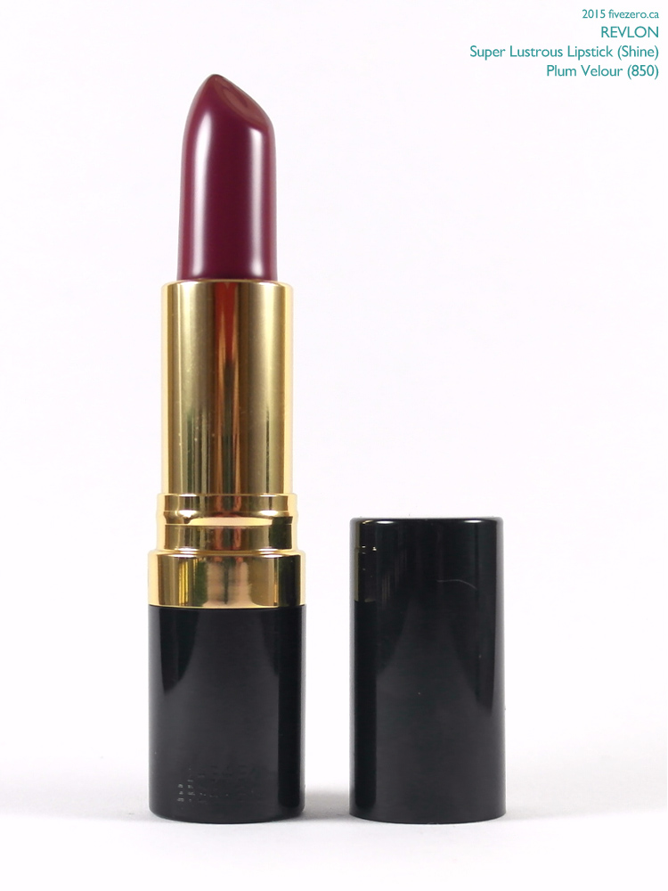 Revlon Super Lustrous Lipstick in Plum Velour