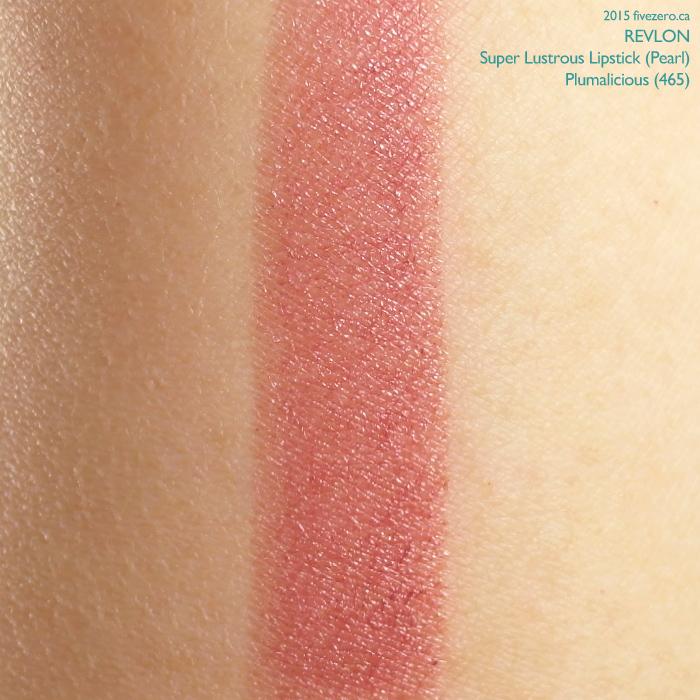 Revlon Super Lustrous Lipstick in Plumalicious, swatch