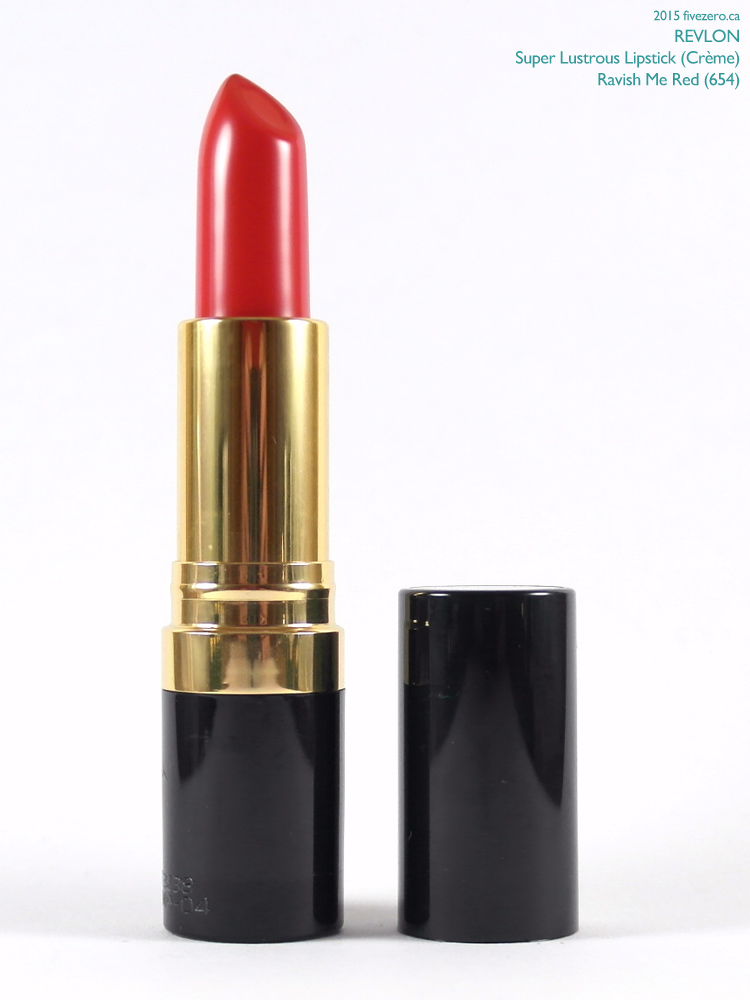 Revlon Super Lustrous Lipstick in Ravish Me Red