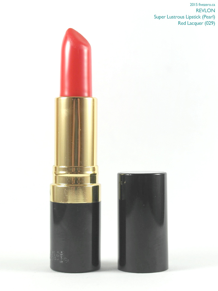 Revlon Super Lustrous Lipstick in Red Lacquer