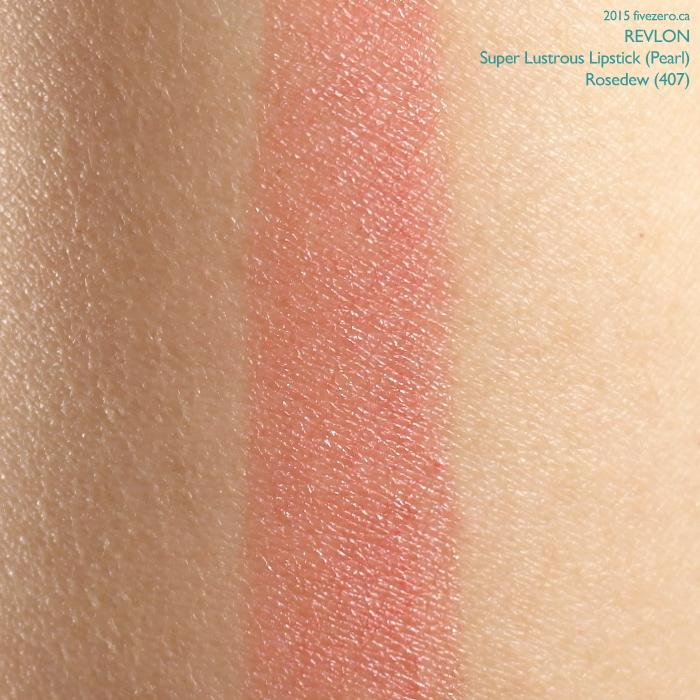Revlon Super Lustrous Lipstick in Rosedew, swatch