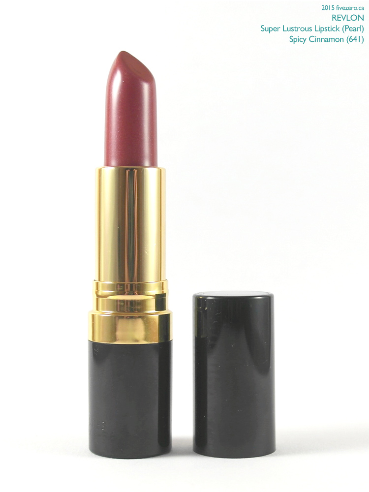 Revlon Super Lustrous Lipstick in Spicy Cinnamon