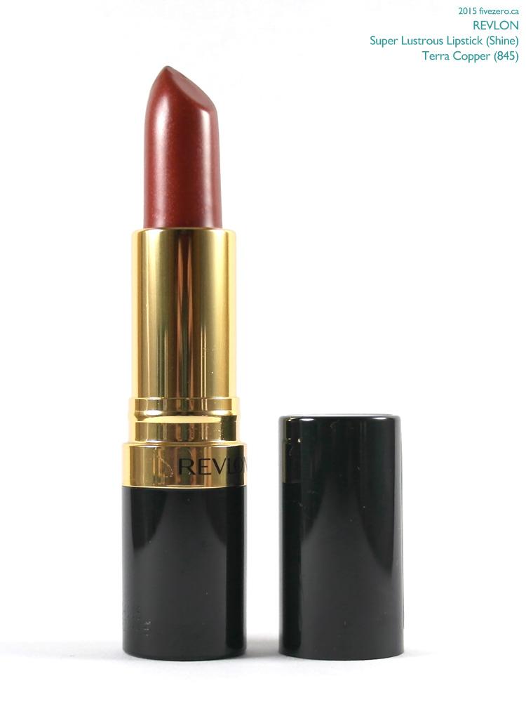 Revlon Super Lustrous Lipstick in Terra Copper