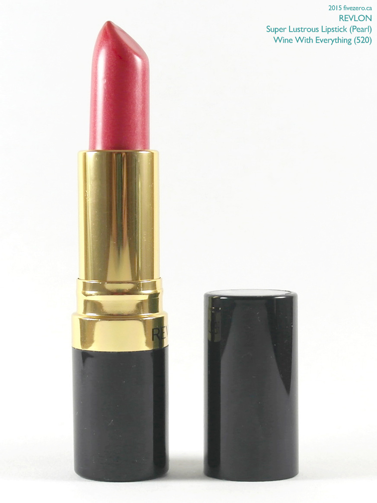 Revlon Super Lustrous Lipstick in Wine With Everything (Pearl)
