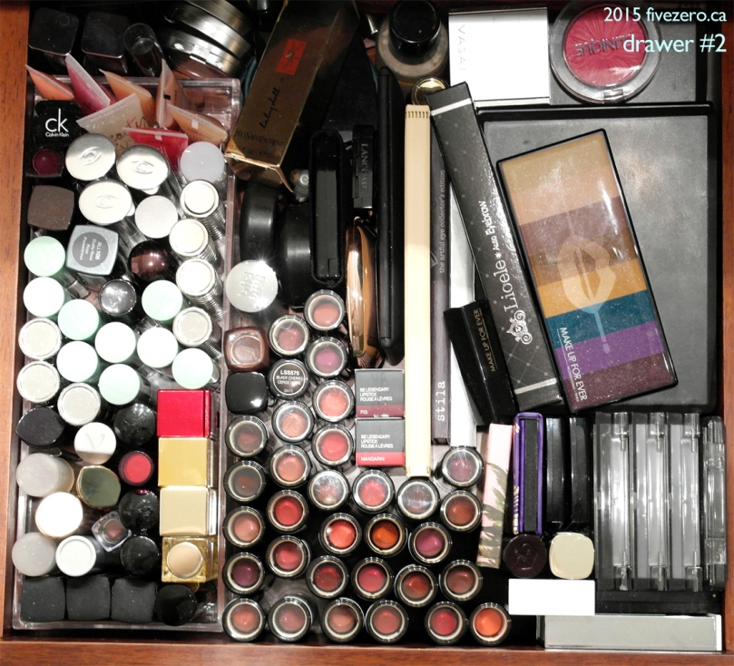 fivezero's makeup drawer #2