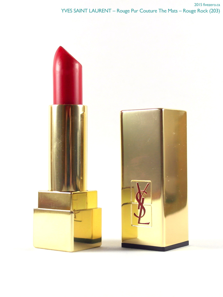 Yves Saint Laurent Rouge Pur Couture The Mats in Rouge Rock