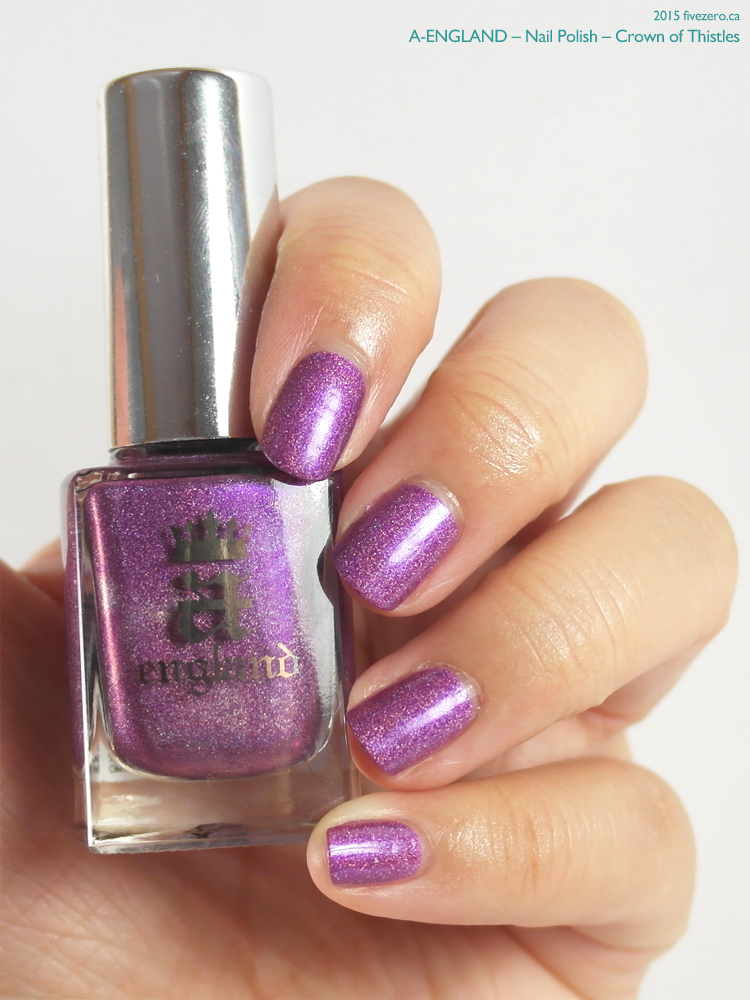 A-England Nail Polish in Crown of Thistles, swatch