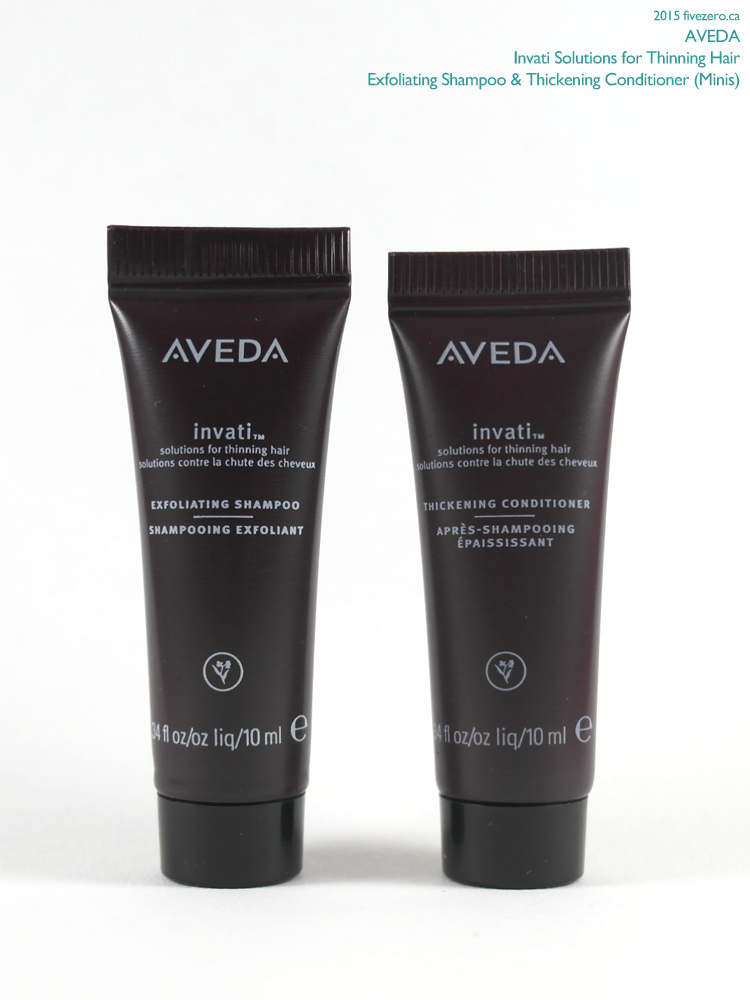 Aveda Invati Hair Care, Shampoo & Conditioner (Minis)