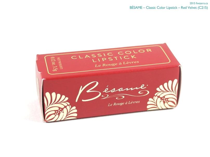 Bésame Classic Color Lipstick in Red Velvet