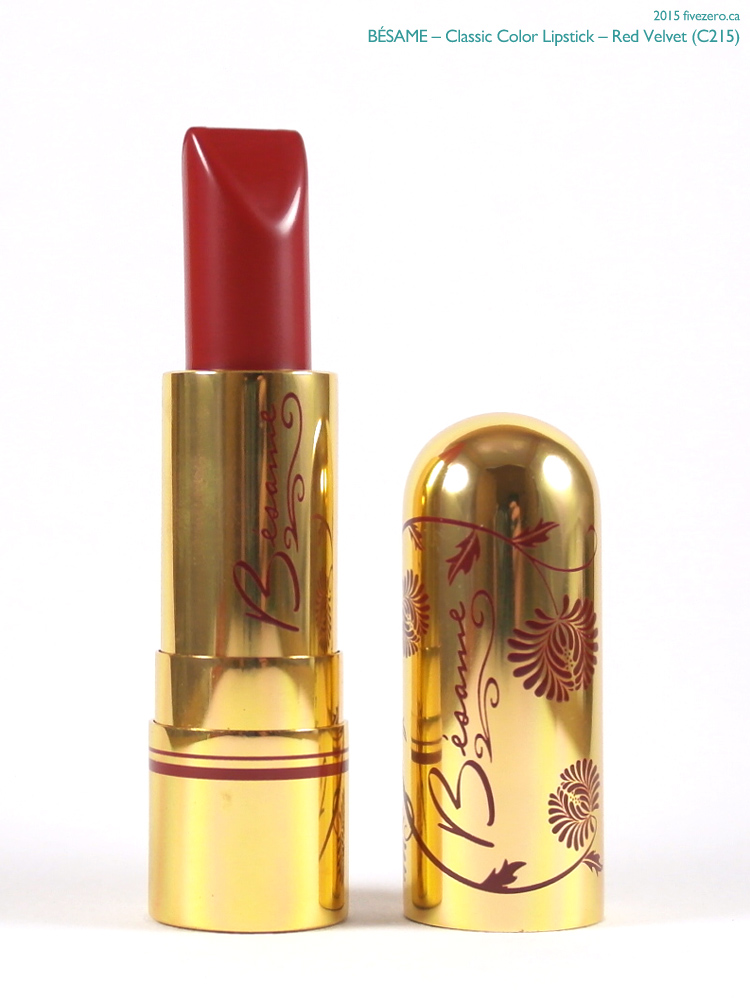Bésame Classic Color Lipstick in Red Velvet