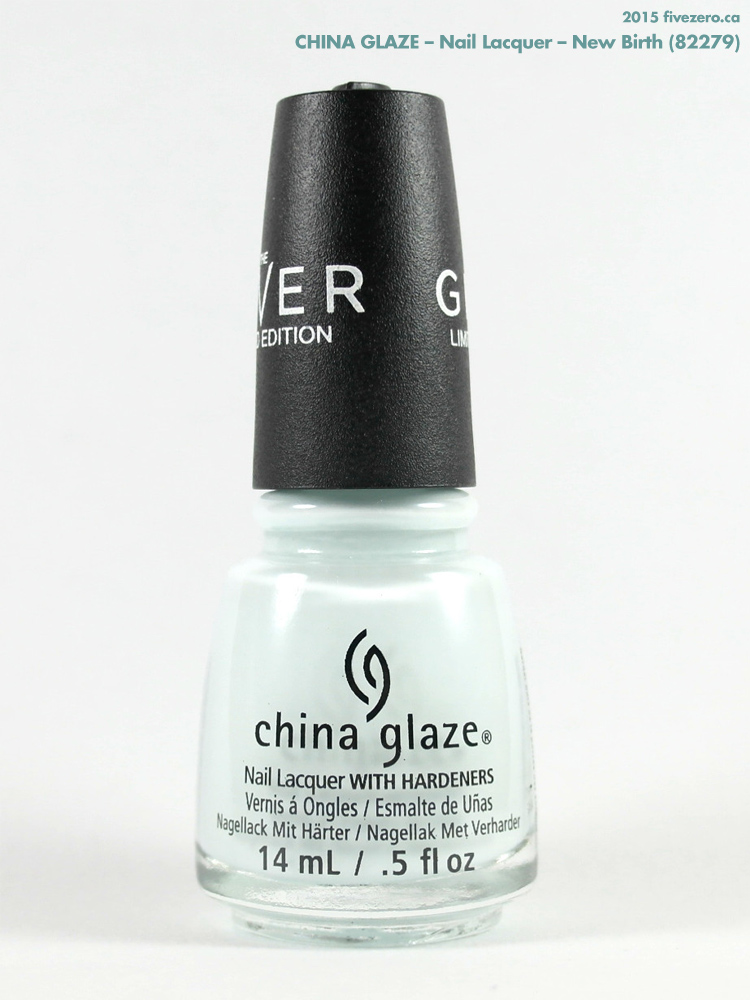 China Glaze Nail Lacquer in New Birth (The Giver)