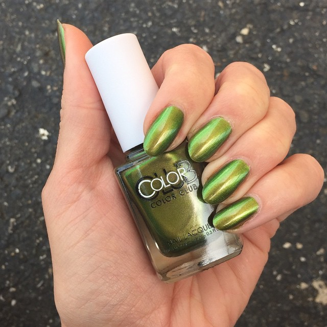 Color Club Oil Slick Collection, swatch