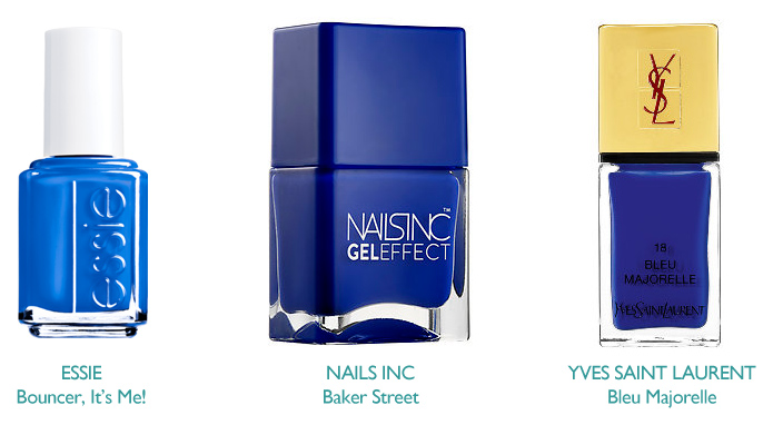 Compilation of Cobalt Blue Nail Polish