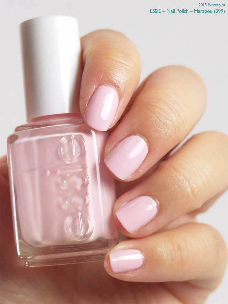 Essie Nail Polish in Marabou, swatch