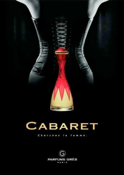 Cabaret by Parfums Grès, print ad