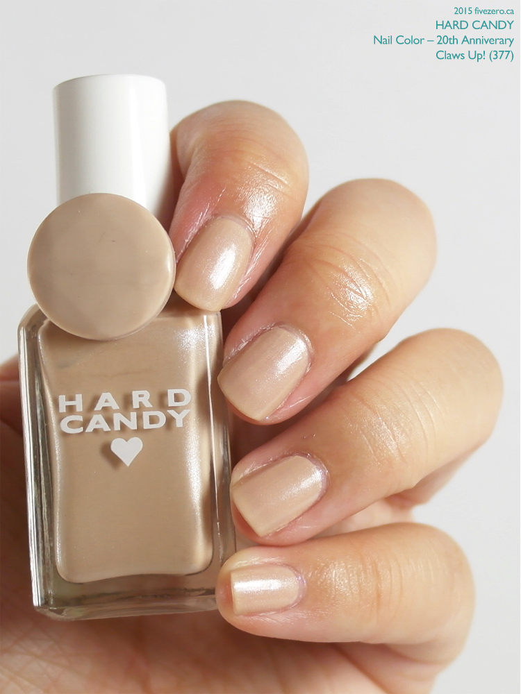 Hard Candy Nail Color (20th Anniversary) in Claws Up!, swatch