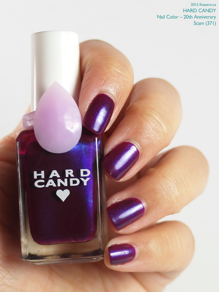 Hard Candy Nail Color (20th Anniversary) in Scam, swatch
