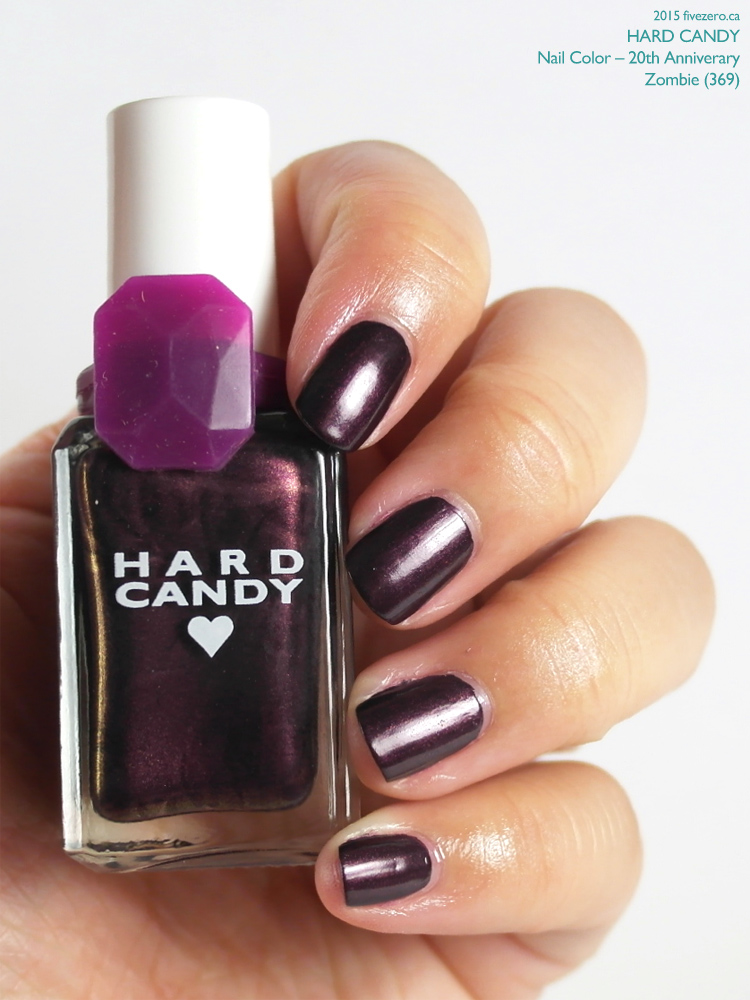 Hard Candy Nail Color (20th Anniversary) in Zombie, swatch