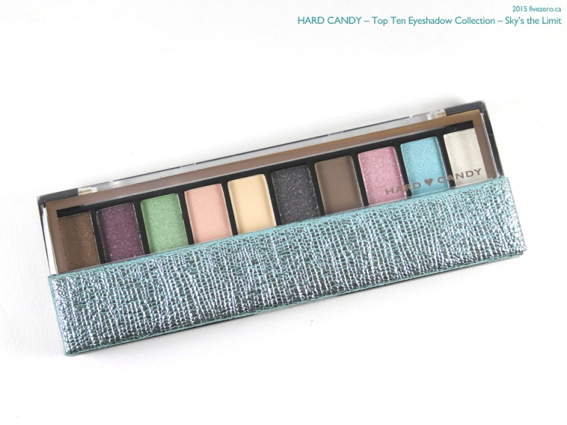 Hard Candy Top Ten Eyeshadow Collection palette in Sky's the Limit