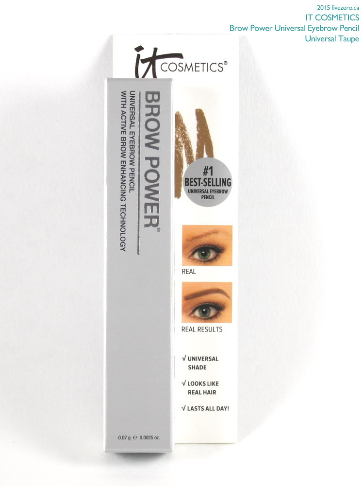 IT Cosmetics Brow Power Eyebrow Pencil in Universal Taupe
