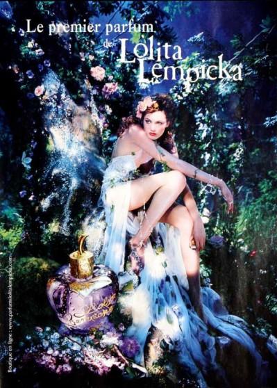 Lolita Lempicka, print ad