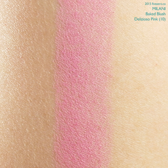 Milani Baked Blush in Delizioso Pink, swatch