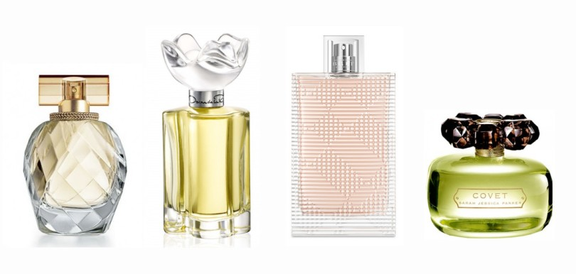 Montage of cheap thrills perfumes