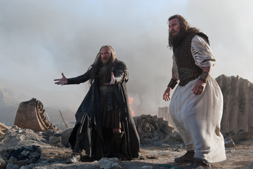 Movie - Ralph Fiennes & Liam Neeson hamming it up in Clash of the Titans