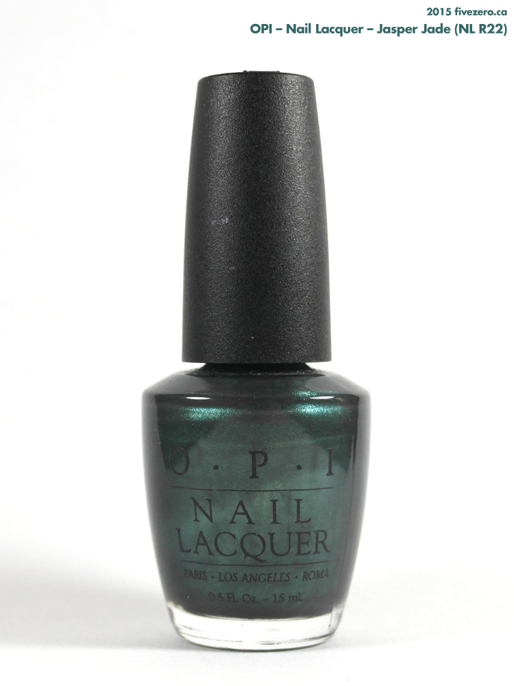 Throwback Thursday! OPI — Jasper Jade (Nail Lacquer) Swatch & Review ...