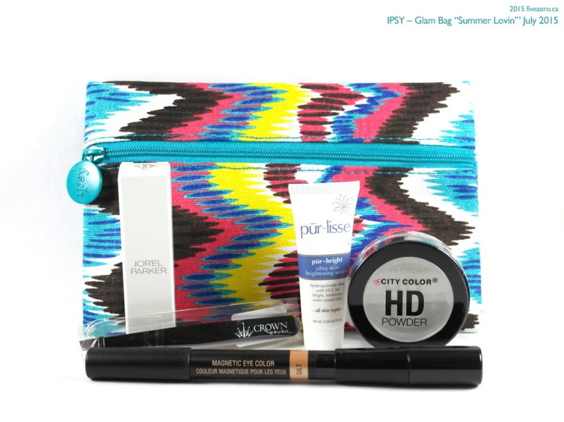 "Ipsy July 2015 Glam Bag ""Summer Lovin'"""