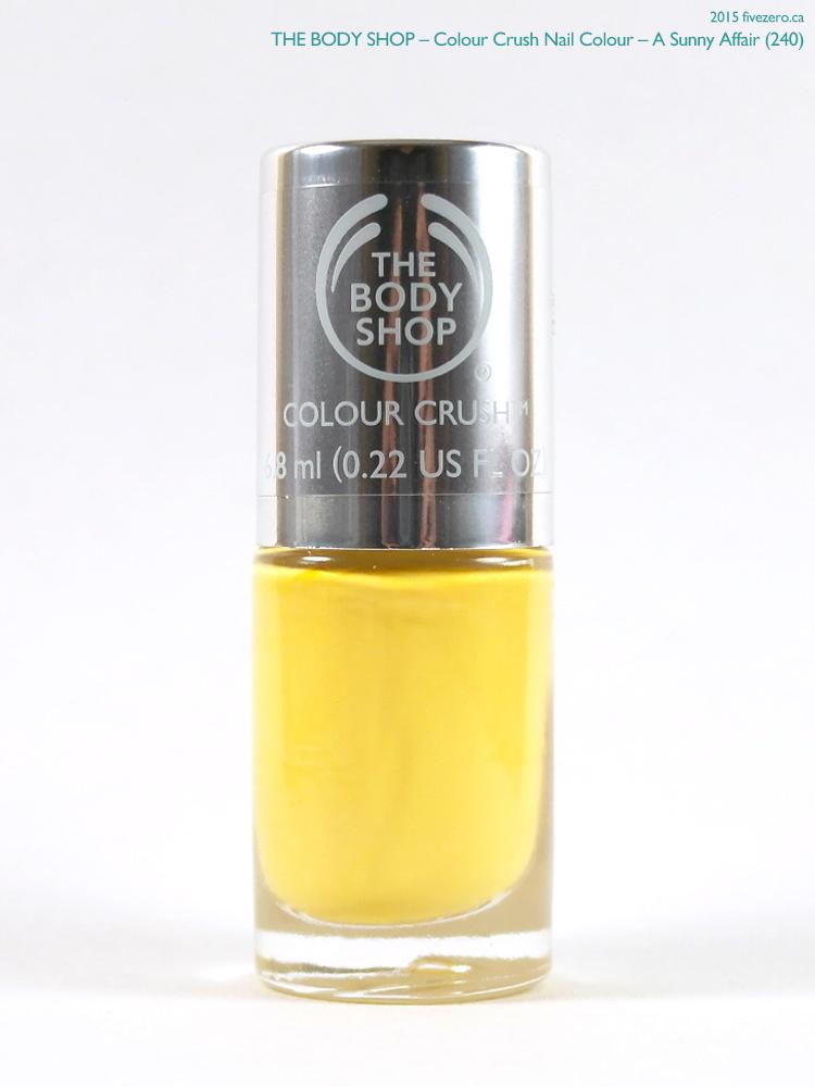 The Body Shop Colour Crush Nail Colour in A Sunny Affair