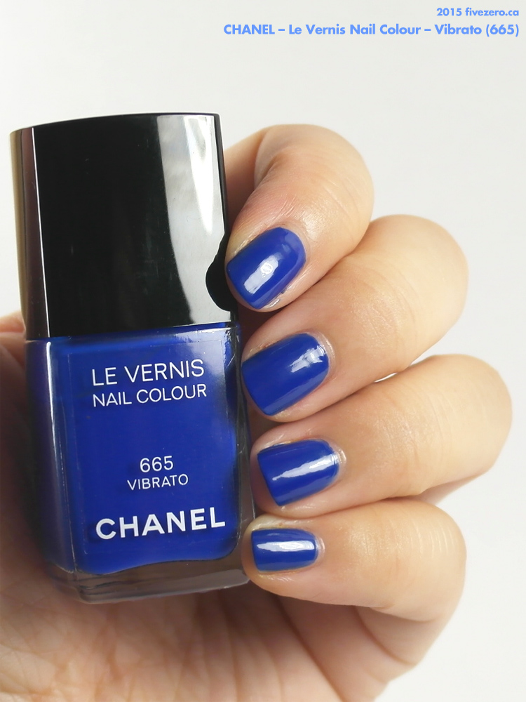 Chanel Le Vernis Nail Colour in Vibrato, swatch